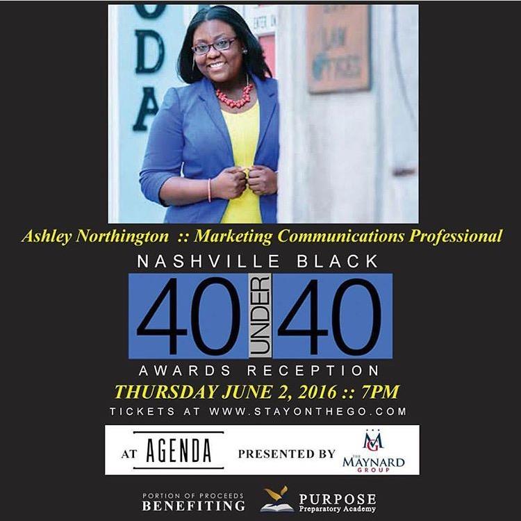 DENOR Brands & Public Relations Founder Honored at Nashville 'Black 40 Under 40' Awards