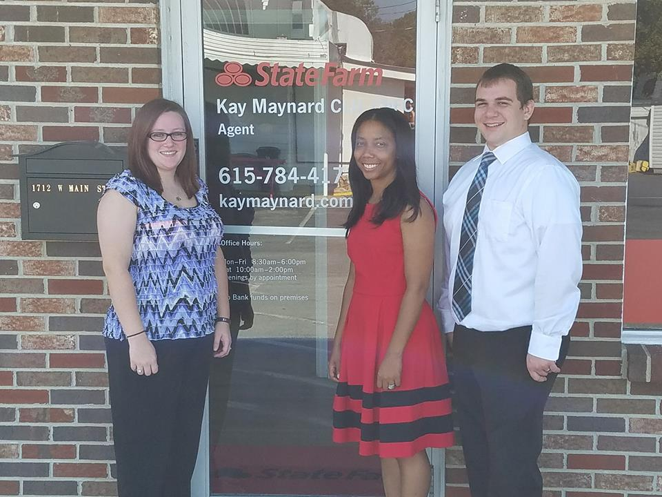 Welcome Kay Maynard State Farm