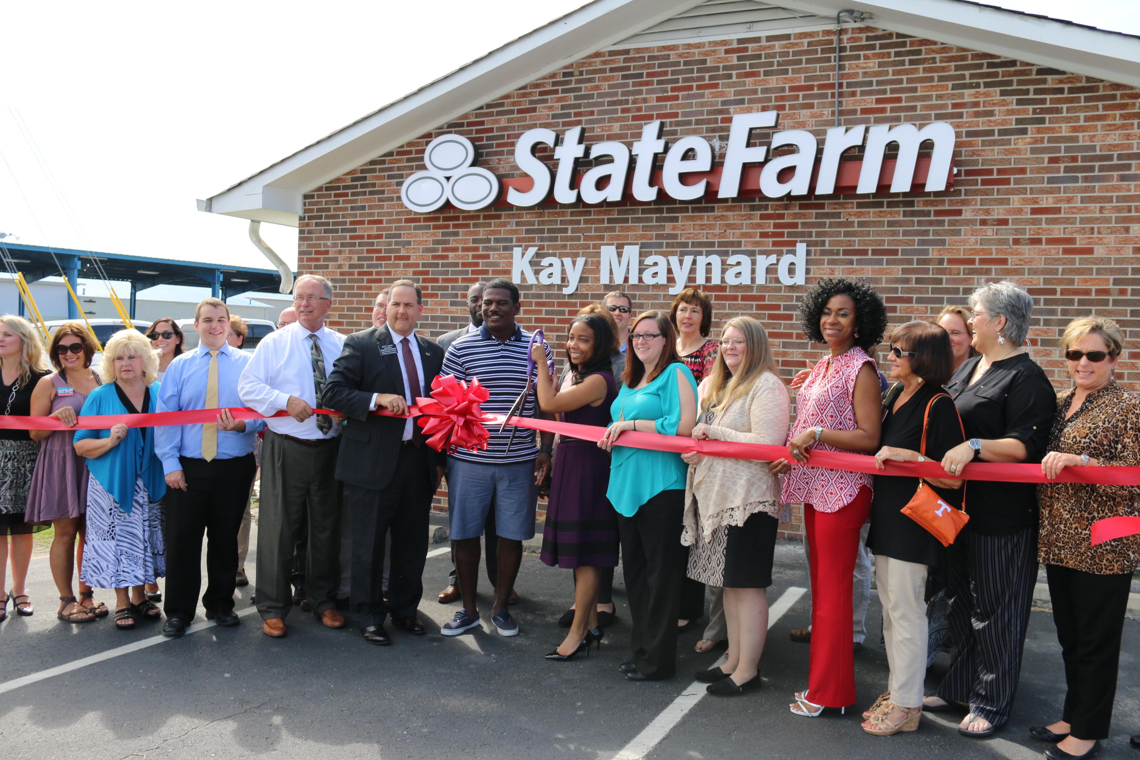 Kay Maynard State Farm Ribbon Cutting Ceremony is a HIT!