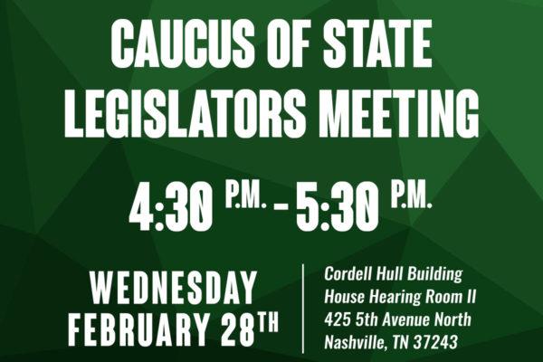 FB 1 Tennessee Black Caucus of State Legislators Meeting